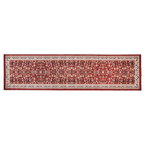 Tesco luxor runner 60x230cm red