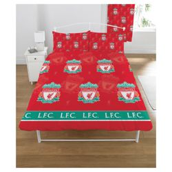 Liverpool Double Duvet Set Micro Fibre