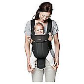 BABYBJORN Baby Carrier Active, Black/Black, Cotton Mix