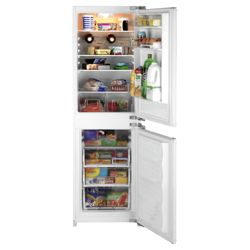 Beko BC501 Integrated Fridge Freezer, Energy Rating A. White