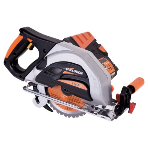 Evolution OUTRAGE 36v Li-Ion Multipurpose Circular Saw (Orange)