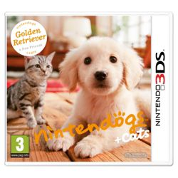 Nintendogs + Cats - Golden Retriever and New Friends