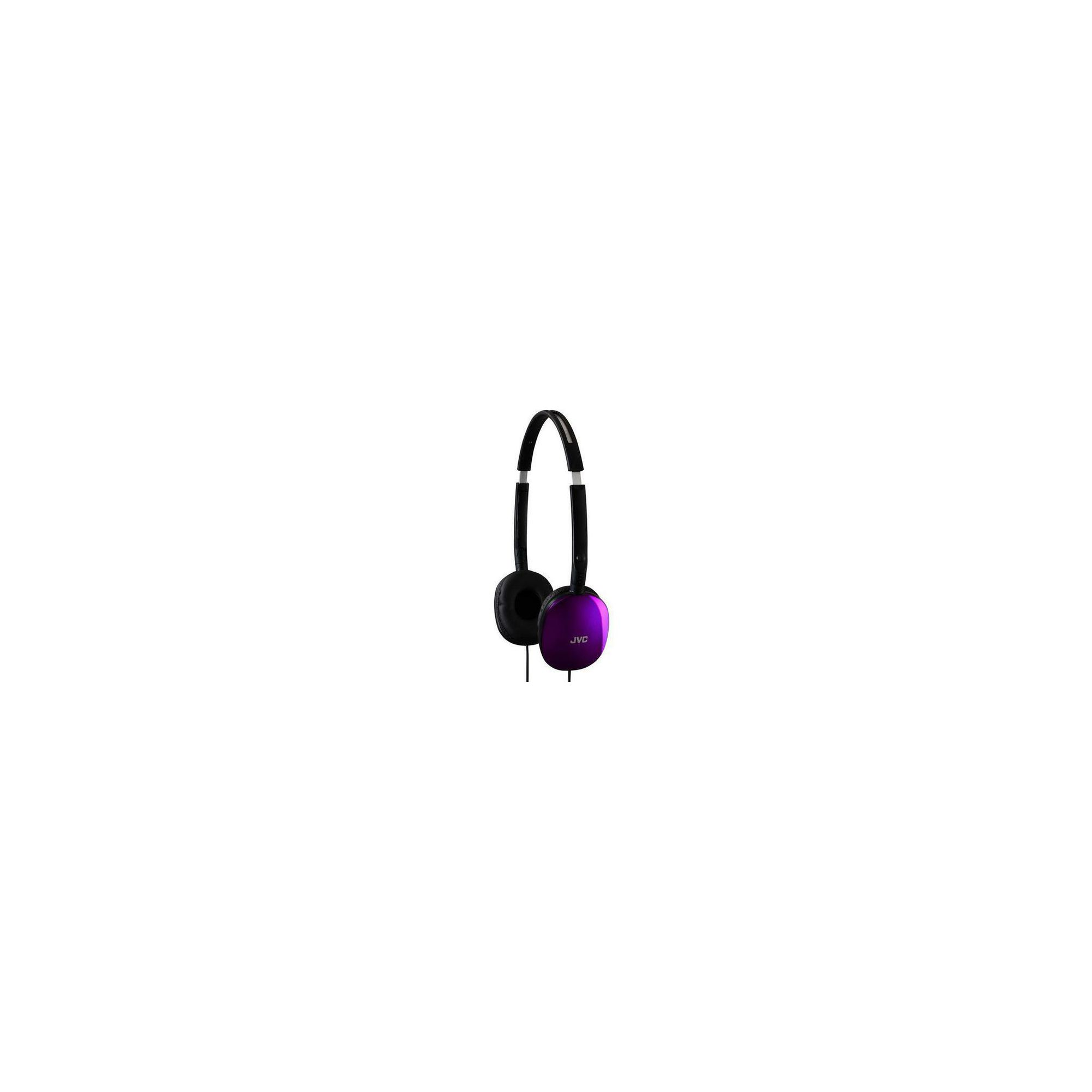 Offerta: JVC Flats Foldable Style Stereo Headphones Violet HAS160V