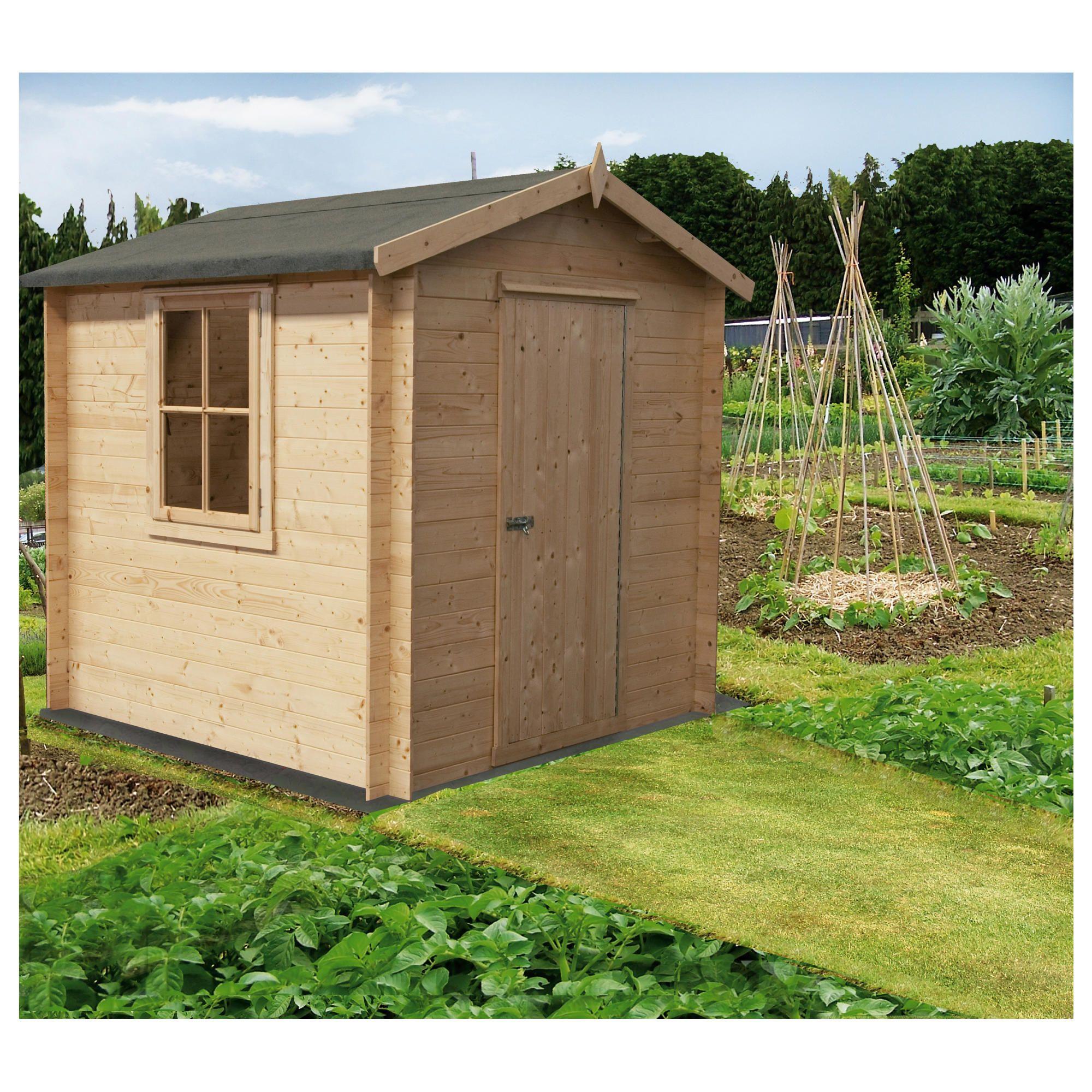 8x6 shed tesco info cneka for Garden shed 8x6
