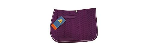 Cottage craft Apollo GP Saddlecloth Purple Full