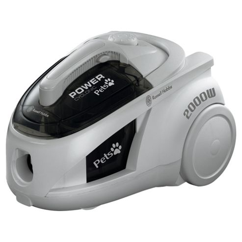 Russell Hobbs 18377 Bagless Pets Cylinder Vacuum Cleaner