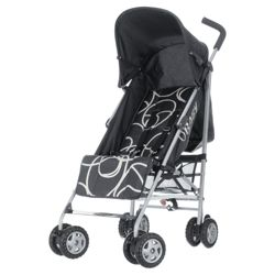 Obaby Atlas Pushchair, Black Scribble