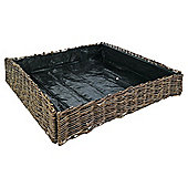 Willow vegetable planter 75x75x15cm