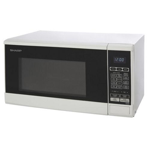 Sharp R270WM 20L Solo Microwave White