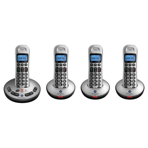 BT Freelance XT3500 Quad Telephone- Exclusive to Tesco