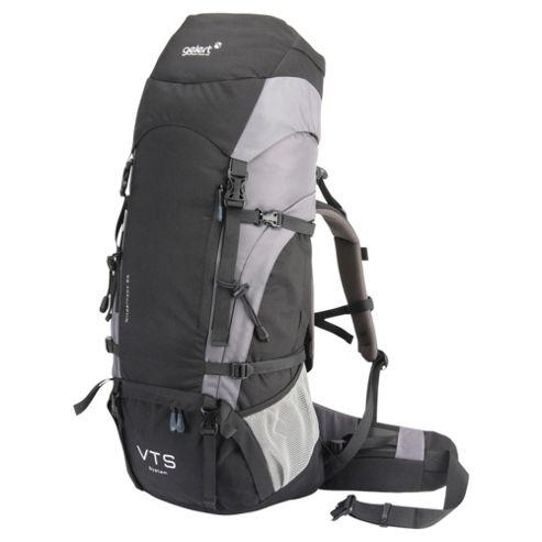 Gelert Wilderness Rucksack, Black 65L