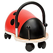 Wheelybug Ladybird Ride-On Toy, Large