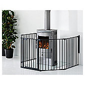 BabyDan Premium Hearth Gate Black