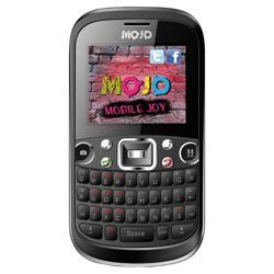 Tesco Mobile Mojo Chat with free memory card exclusive to Tesco Black