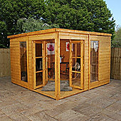 Mercia Wooden Summerhouse Garden Room, 10x10ft