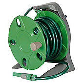 Tesco 20m hose reel set & connectors