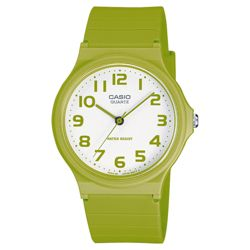 Green Analogue Casio Watch