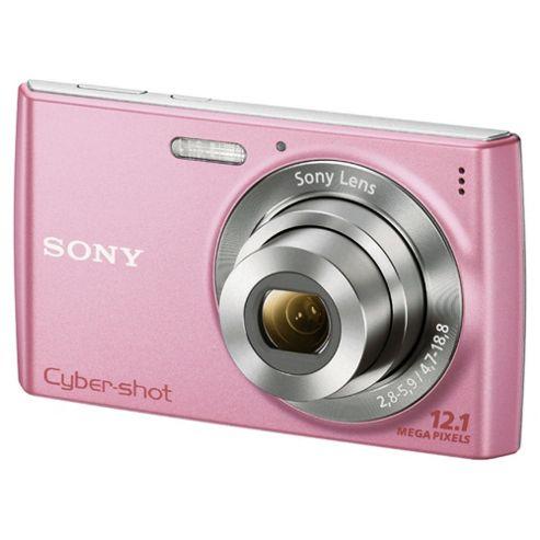 Sony DSCW510 Cyber-shot Digital Still Camera - Pink (12.1MP, 4x Optical Zoom) 2.7 inch LCD