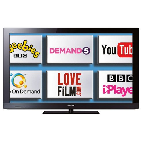 Sony KDL32CX520BU 32 inch Widescreen Full HD 1080p LCD Internet Ready TV with Freeview