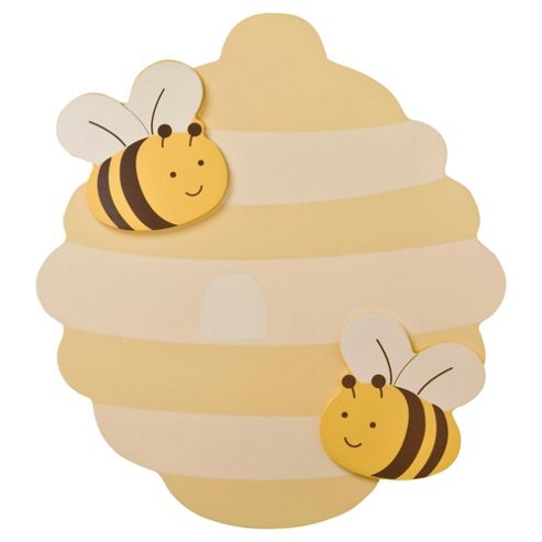 Kids Line Cute As Can Bee Wall Art