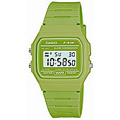 Casio Green Retro Digital Watch