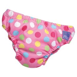 Bambino Mio Swim Nappy - Red Spot Medium