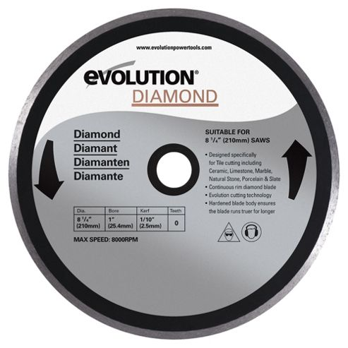 Evolution 210mm Diamond Blade