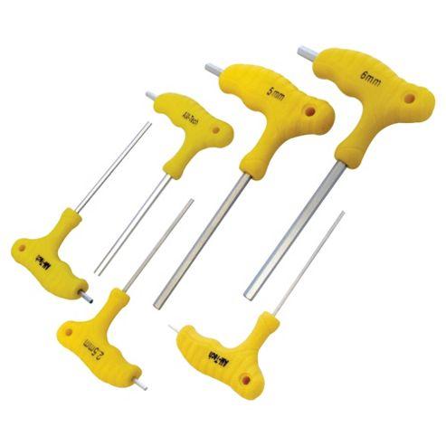 Am-Tech 6 Piece T Handle Hex Wrench Set L0755
