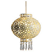 Tesco Lighting sonia pendant shade in cream