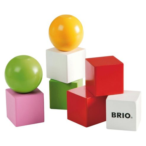 Brio Classic Magnetic Building Blocks, wooden toy