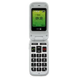Tesco Mobile Doro Phone Easy 409s Black & White