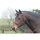 Cottage Craft Cambridge Bridle with Reins Havana F
