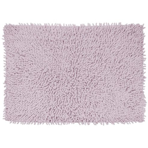 buy tesco bath mat chenille lilac from our bath mats range. Black Bedroom Furniture Sets. Home Design Ideas
