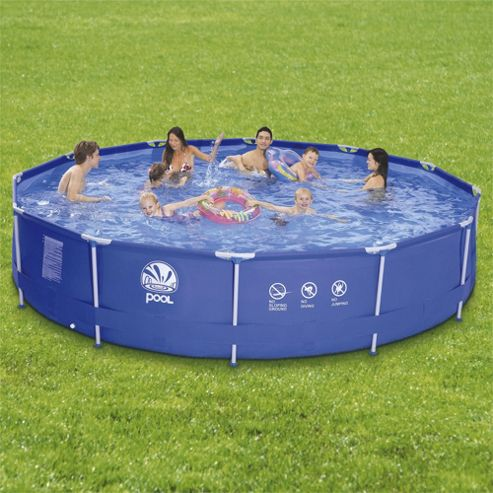 Tesco 15ft Metal Frame Pool Set