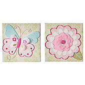 Kids Line Bella Wall Art