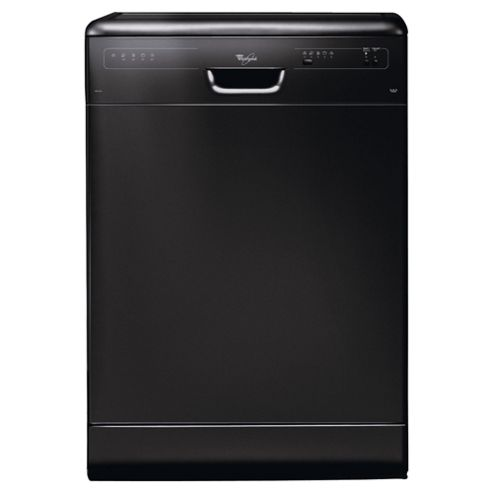 Whirlpool ADP2315 Full Size Dishwasher, A Energy Rating. Black