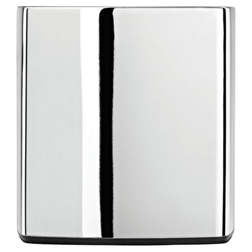 Simplehuman Chrome square tissue box holder
