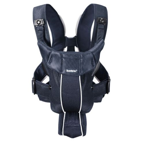 BABYBJORN Baby Carrier Active, Dark Blue, Mesh