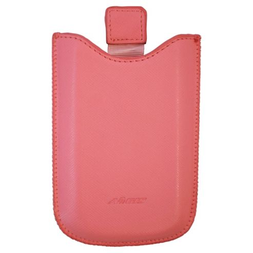 Aegis Leather Pouch HTC Wildfire Pink
