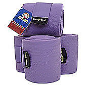 Cottage Craft Fleece Bandages - Aubergine