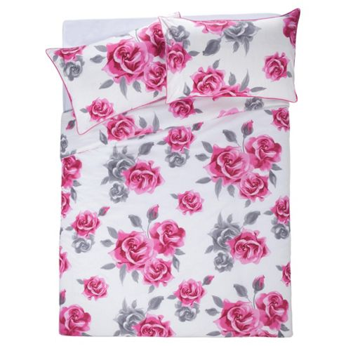 F&F Home Audrey Roses King Size - Pink