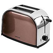 Kenwood TTM109 Metallic Antique Bronze 2 Slice Toaster