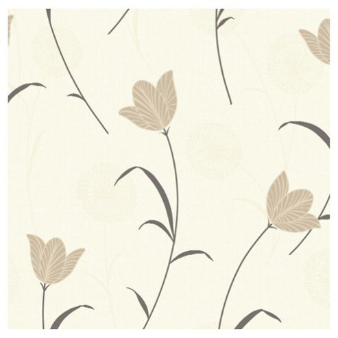 Arthouse Adelphi floral chocolate wallpaper