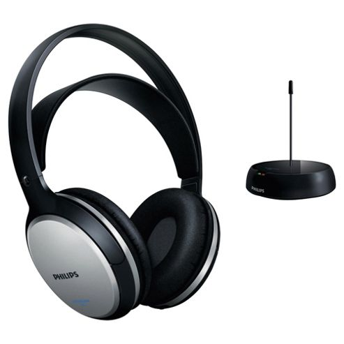 Philips SHC5100 Wireless Headphones - Black