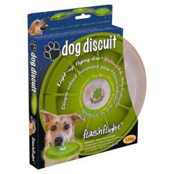 Nite Ize Dog Discuit LED Frisbee Green