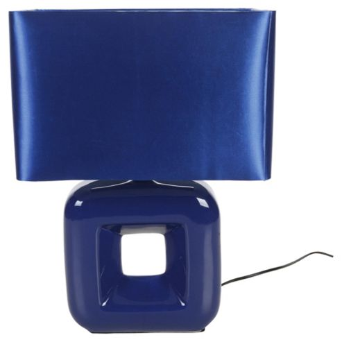 Tesco Lighting Bianca Table lamp Blue