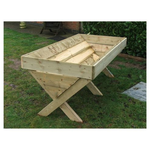 180cm Wooden Rooting Planter Trough