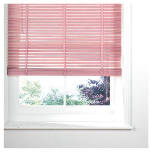 Pink Venetian Blind 60cm