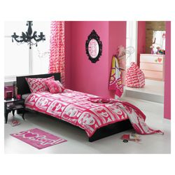 Barbie Single Rotary Duvet Set Micro Fibre