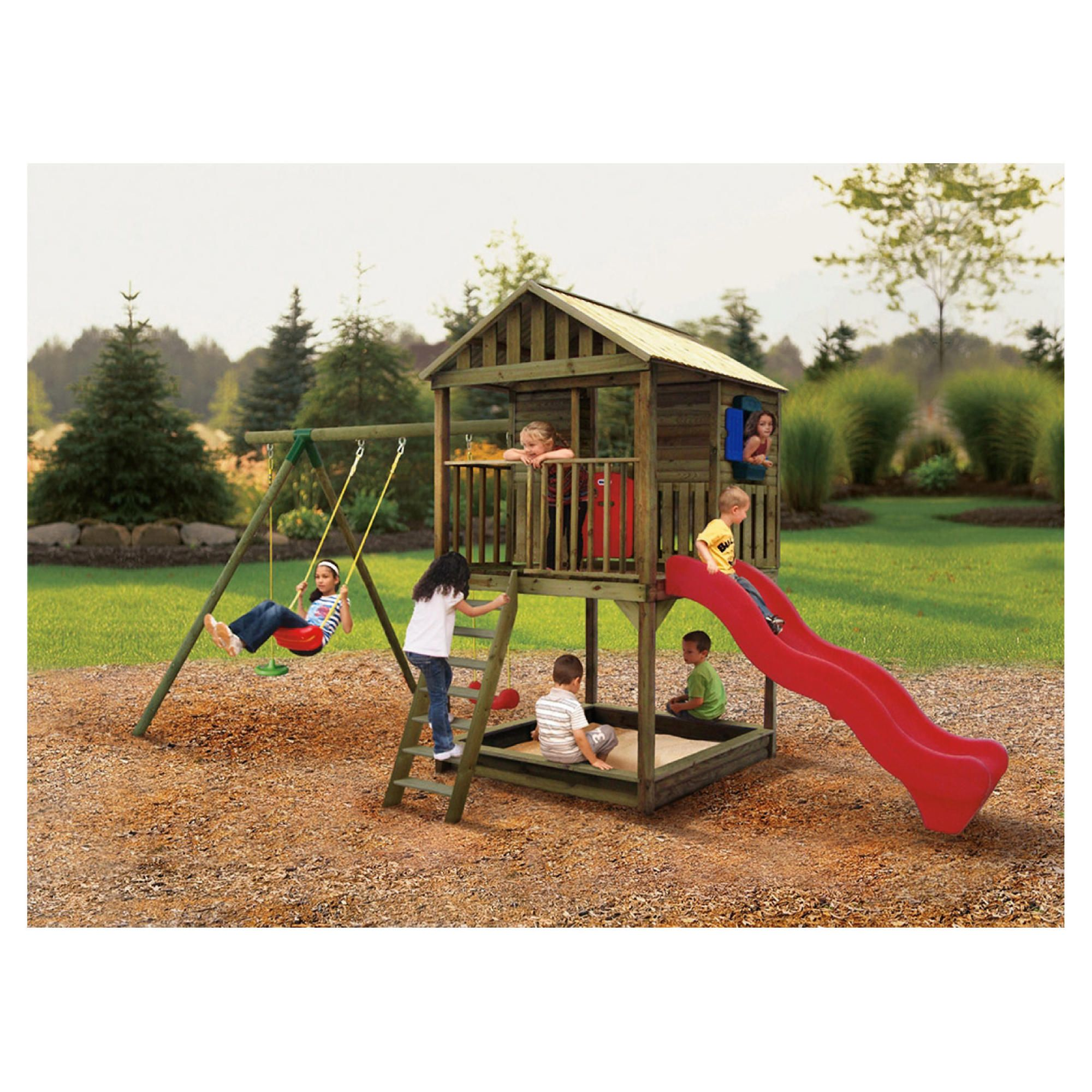 Little Tikes Richmond Treehouse Play System at Tesco Direct
